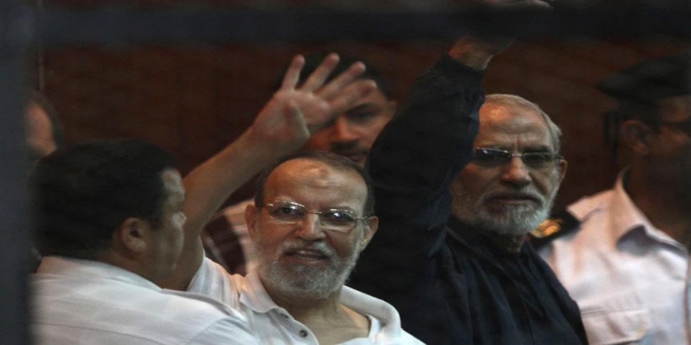 أحكام نهائية بالإعدام بحق قيادات من الإخوان بمصر