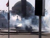 مقتل عميد شرطة وجرح 5 بانفجارين أمام جامعة القاهرة