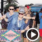 En vidéo-1ère journée du Festival 'Éphémère' : Affluence et bonne musique … la fête était au rendez-vous !