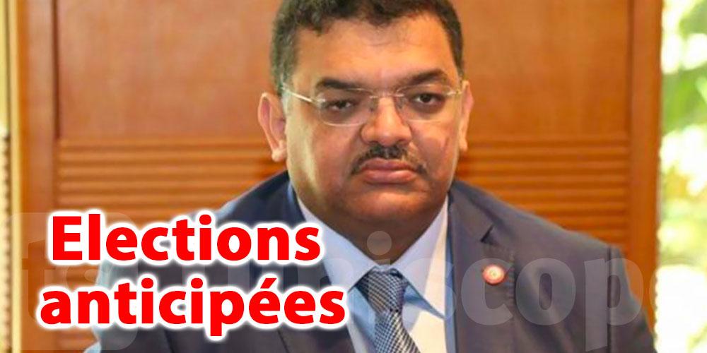 Des élections anticipées sont la solution selon Lotfi Zitoun