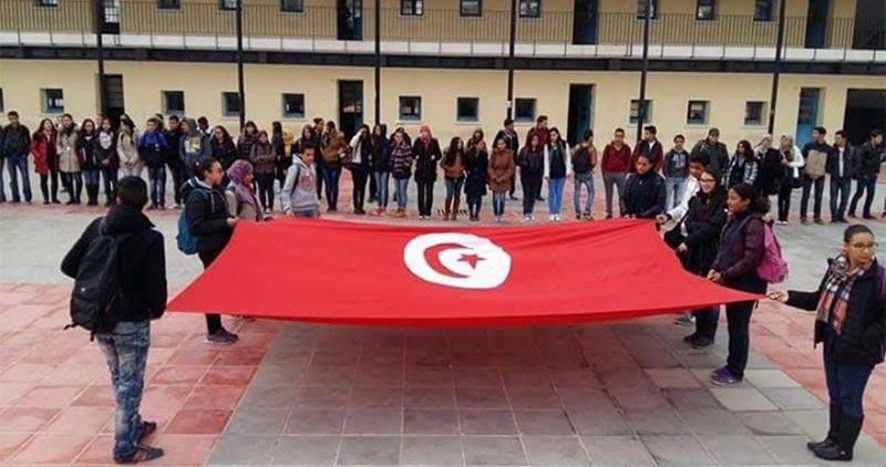 القيروان : تحرك احتجاجي تلمذي للمطالبة باجتياز الامتحانات