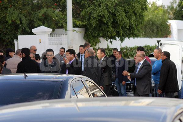 بالصّور : موكب جنازة سيدة الأعمال عواطف اللّومي الغول