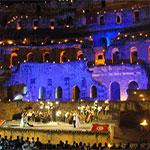 Valses viennoises et sopranos ont enchanté le colisée romain d'El-Jem