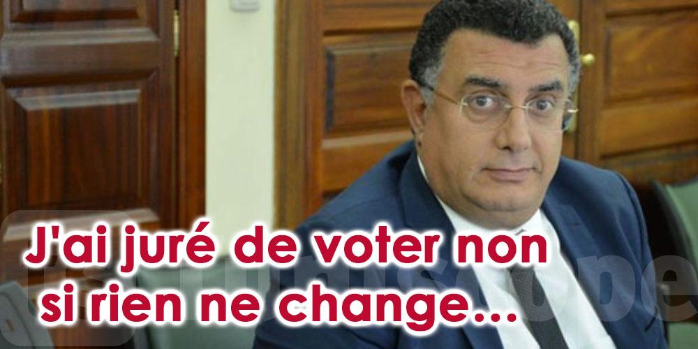 J'ai juré de voter non si rien ne change…