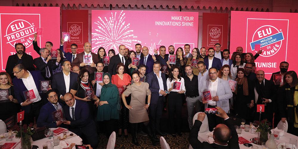 Produit de l'année Tunisie récompense les produits de consommation les plus innovants et les meilleurs services clients élus par les consommateurs Tunisiens