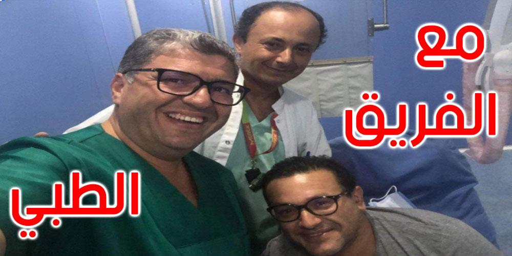 صور: الإعلامي الياس الغربي يتماثل للشفاء
