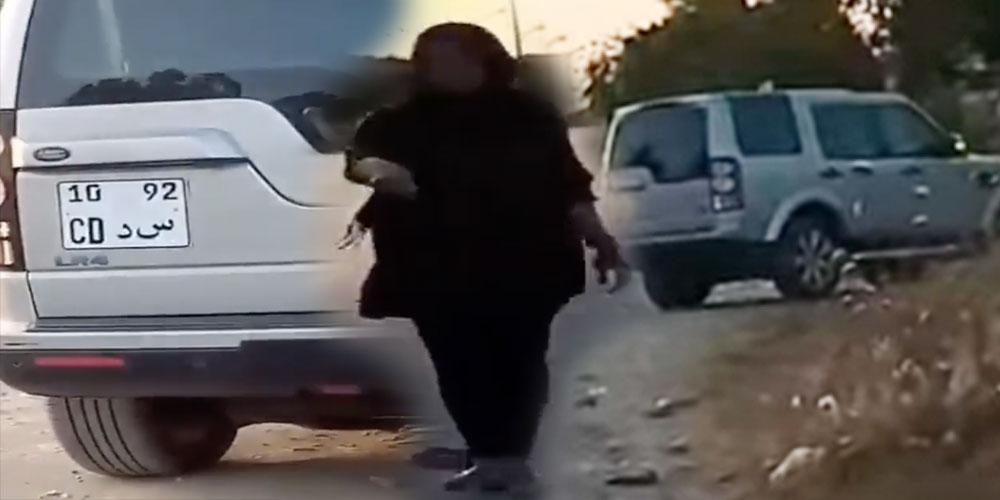 Le vehicule d'un membre de l'Ambassade de France impliqué dans l'abandon de la fillette  ?
