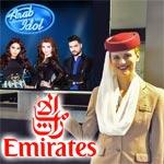 Emirates parraine l'émission Arab Idol