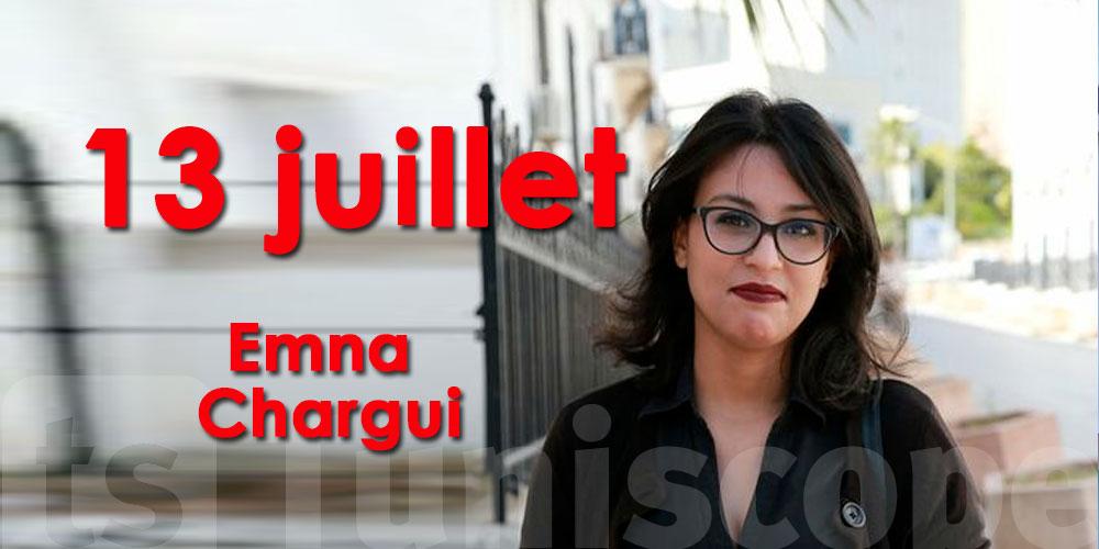 Délibérations de l'affaire Emna Chargui le 13 juillet