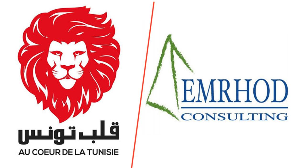 Au cœur de la tunisie en tête des intentions de vote aux législatives, selon Emrhod Consulting