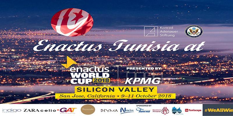Enactus Tunisia participe dans la compétition internationale Enactus World Cup 2018