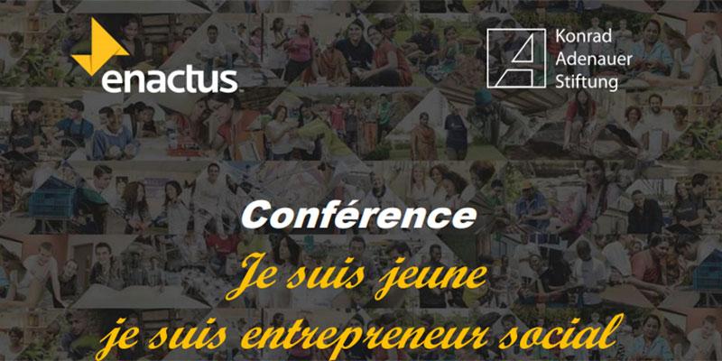 Conférence Je suis jeune je suis entrepreneur social ce samedi 7 avril