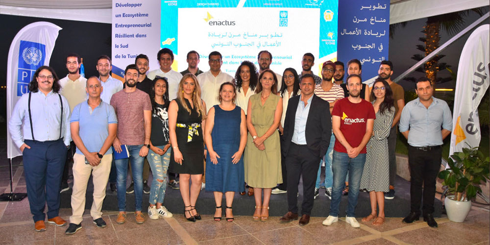 Partenariat entre le PNUD et ENACTUS pour un écosystème entrepreneurial résilient dans le Sud