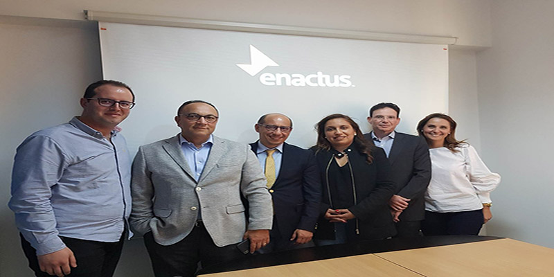 Abdelaziz Darghouth élu Chairman d'Enactus Tunisie