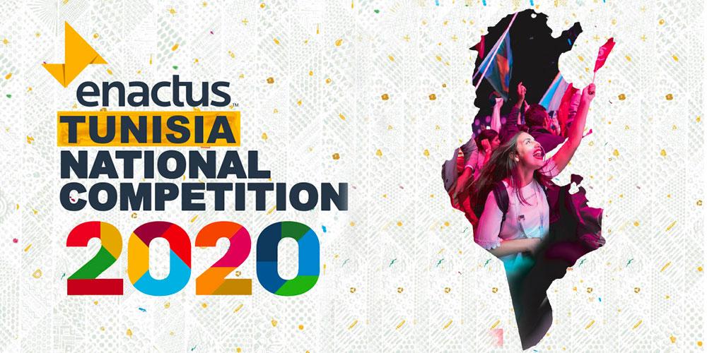 Enactus Tunisia Online National Competition 2020 du 24 au 26 août