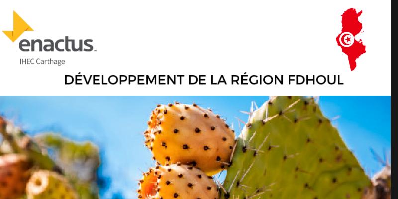 En photos : Projet Enactus pour le développement de la région Fdhoul à Siliana