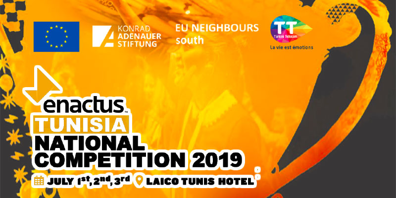 Enactus Tunisia National Competition 2019 du 1 au 3 juillet