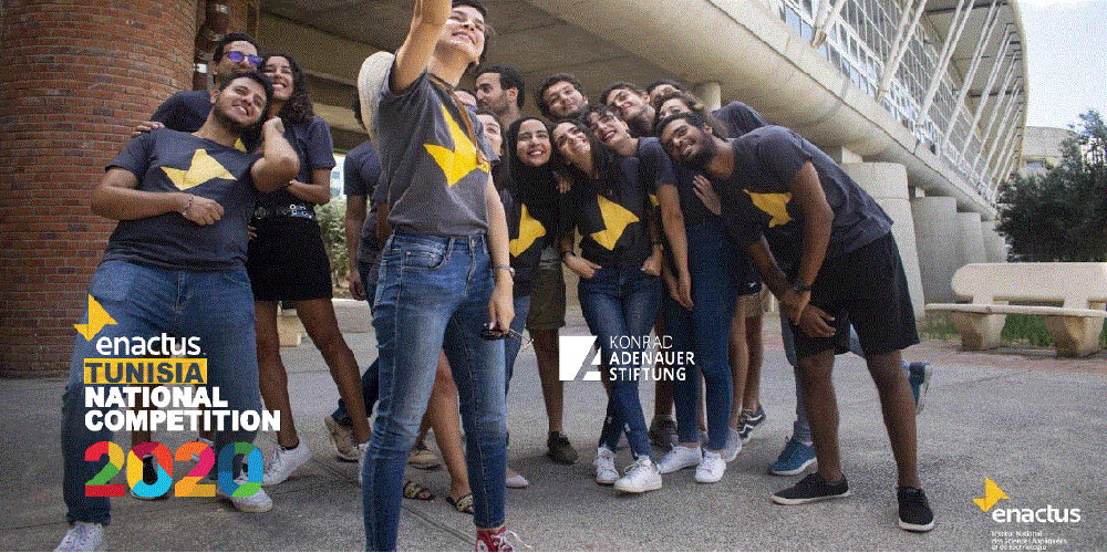 ENACTUS INSAT remporte la ENACTUS Tunisia online national competition 2020