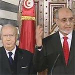 Vidéo : passation du pouvoir entre le gouvernement Essebsi et Jebali