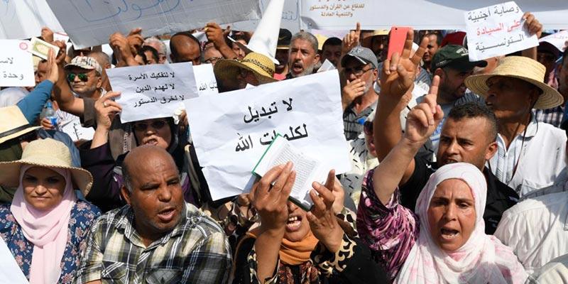Ne pas repenser les textes coraniques tranchés et la constitution sont les mots d'ordre d'Ennahdha
