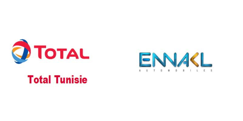 TOTAL Tunisie et ENNAKL Automobiles: Les leaders unissent leurs forces pour reconforter les clients et afferment desormais leur position