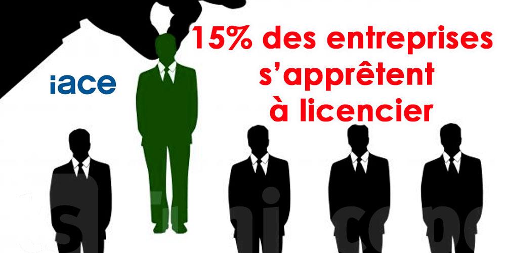 IACE : 15% des entreprises envisagent de licencier