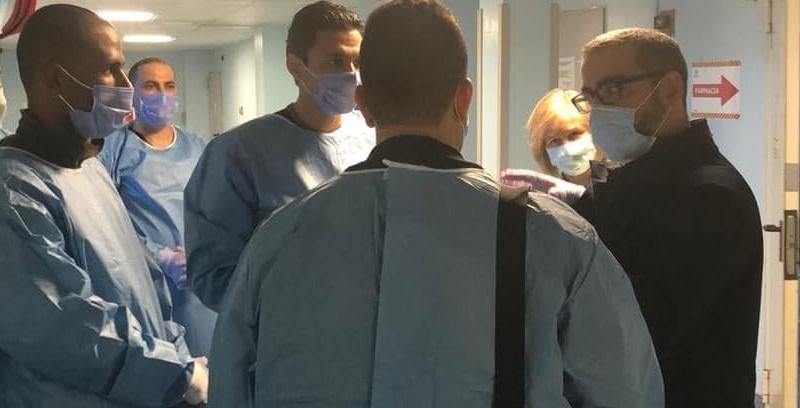 En photos : L'équipe médicale tunisienne renforce la lutte italienne contre le covid-19