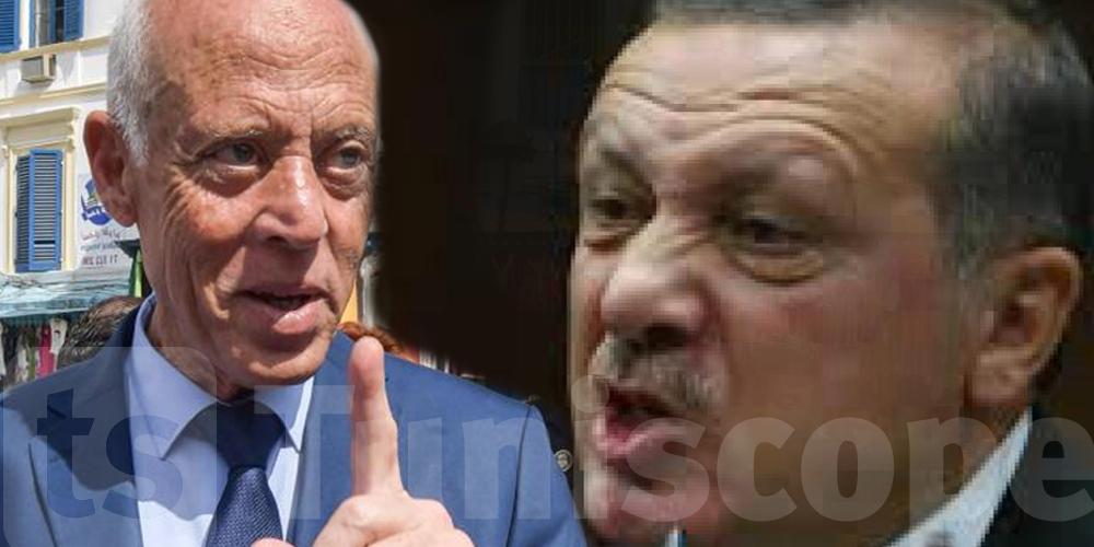 Tunisie : Qu'a dit Erdogan à Saied ?