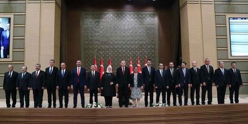 بالأسماء: بينها صهره، أردوغان يعلن تشكيلة حكومته الجديدة