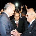 Un accueil triomphal pour Erdogan par les Tunsiens