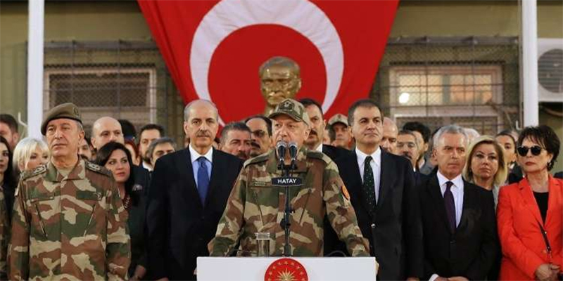 أردوغان يعين قائدا جديدا للجيش