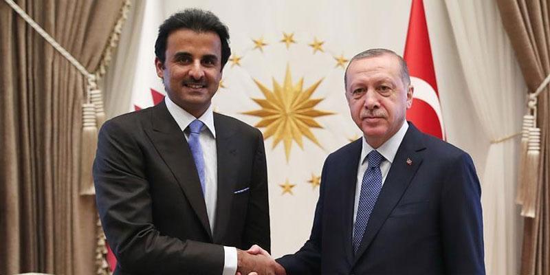 أمير قطر يعلن عن استثمار مباشر في تركيا بـ 15 مليار دولار<