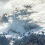 L'éruption volcanique en vidéo