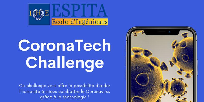 Lancement de la compétition ''The Corona Tech Challenge''