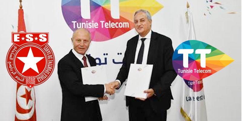 Tunisie Telecom, fier du nouveau partenariat avec le club légendaire l'ESS