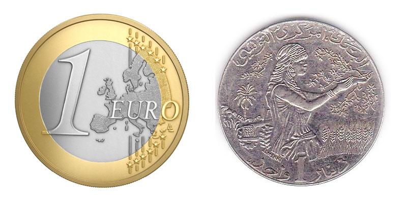 L'Euro a 20 ans et il valait 1,487 Dt dans le temps