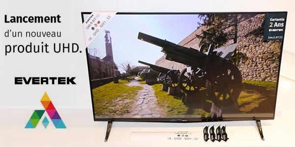 En photos : Découvrez les Smart TV EVERTEK