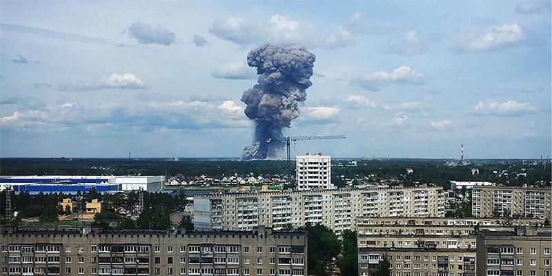 إصابة 79 شخصا جراء انفجارات بمصنع للذخيرة في روسيا