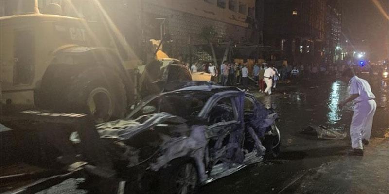 الداخلية المصرية: سيارة محملة بمتفجرات وراء انفجار وسط القاهرة