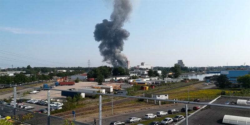 Explosion d'un silo à grains à Strasbourg, quatre blessés dont trois graves
