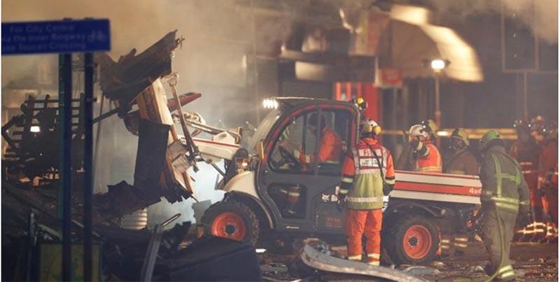 الهند: انفجار قنبلة في مكتب إغاثة