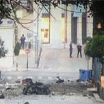 انفجار سيارة ملغومة خارج بنك اليونان المركزي ولا إصابات
