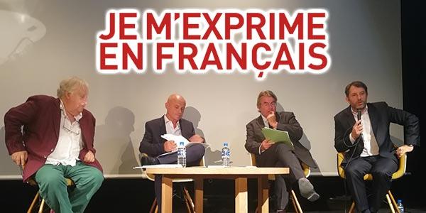Je m'exprime en français, un programme pour la présence de la langue française dans les médias