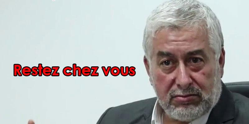 Abdelmajid Ezzar : Restez chez vous et vous aurez tout ce dont vous avez besoin