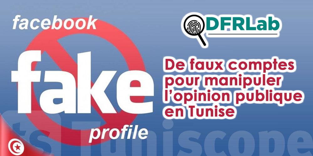 De faux comptes Facebook ont fédéré 3,8 millions d'internautes en Tunisie
