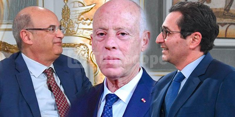 Fadhel Abdelkefi et Hakim Ben Hamouda finalistes chez Kais Saied ?