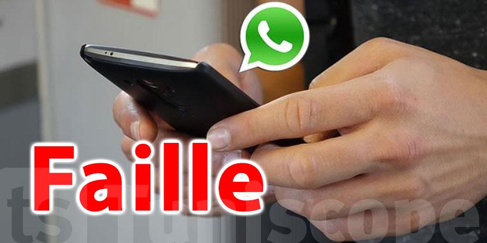Cette faille permet à un tiers de bloquer votre compte WhatsApp