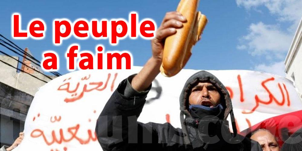 ''Le peuple a faim''