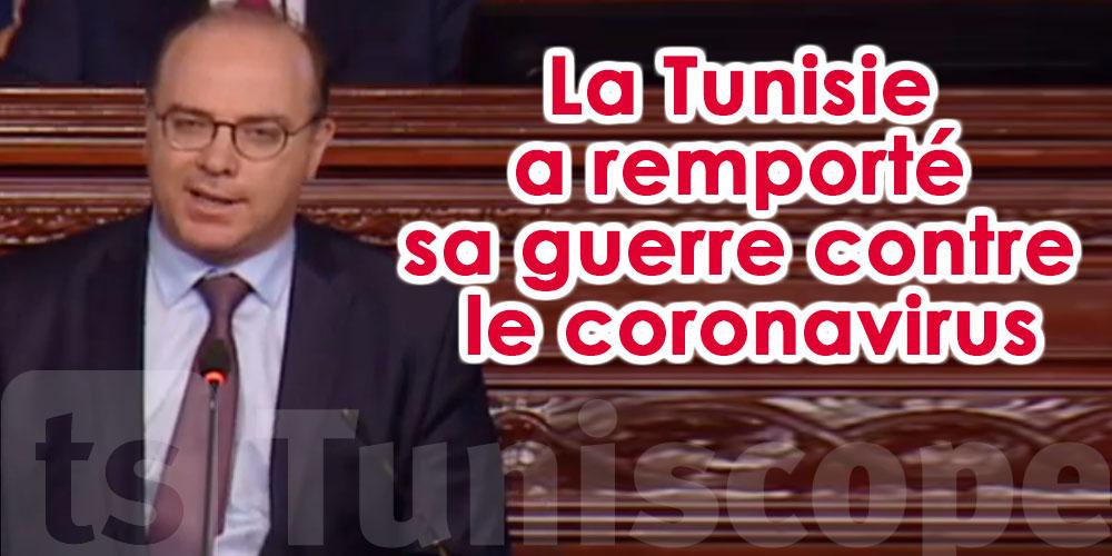Elyes Fakhfakh rappelle la victoire de la Tunisie contre le Coronavirus