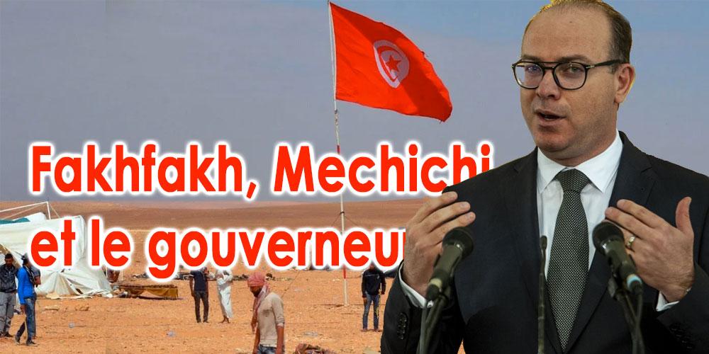 Procès Contre Fakhfakh et Mechichi à cause du Sit-in d'Al-Kamour